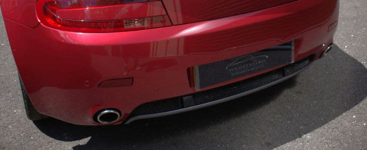 Aston Martin Vantage Exhaust Pipes