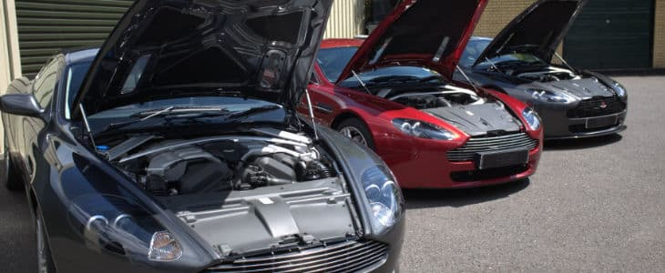 Modern Aston Martin Engines